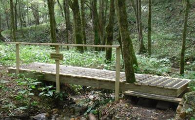 Madeline's Crossing bridge
