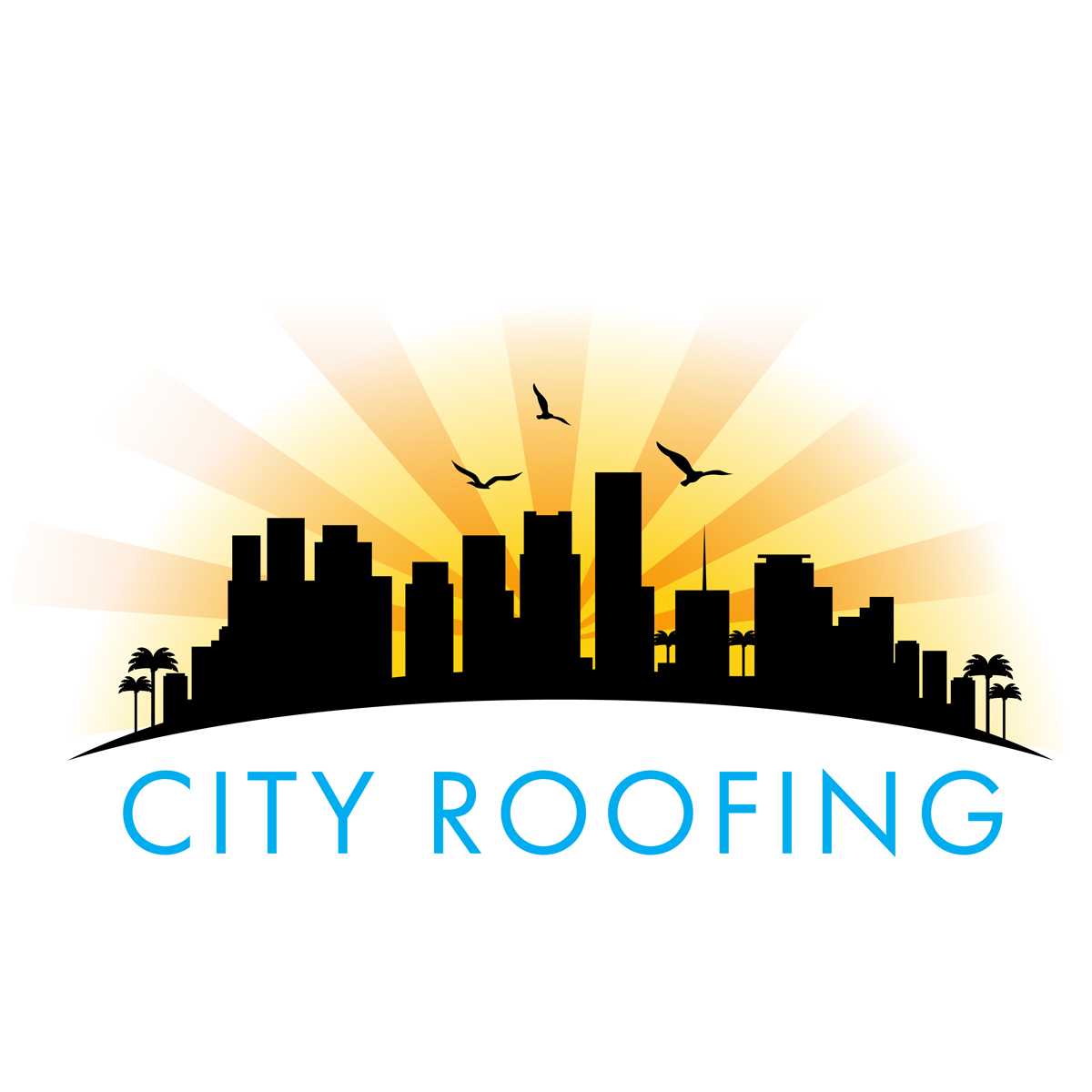 City Roofing Logo