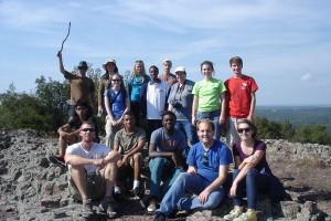 Westminster Physical Geology Class Schmidt
