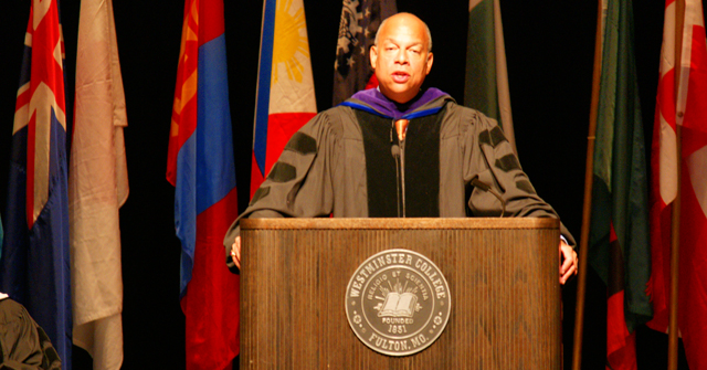 Green Foundation Lecture adressed by U.S. Secretary of Homeland Security Jeh Johnson