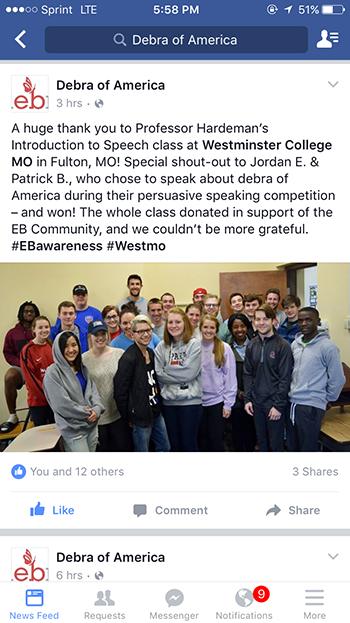 Debra-of-America-Westminster-College