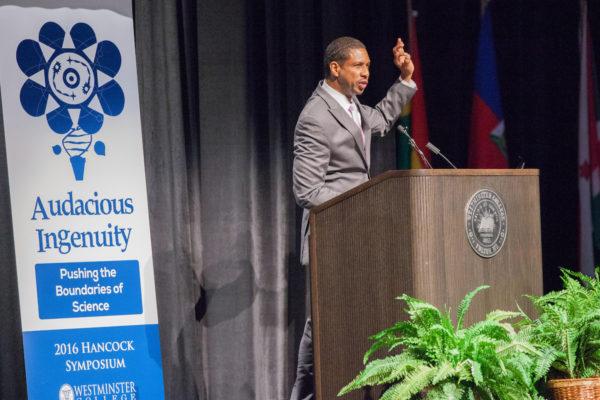 Dr. Hakeem Oluseyi, 2016 Hancock Symposium