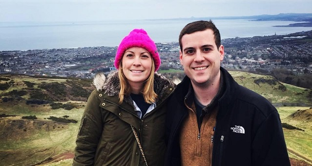 High school and college sweethearts Mike Butera '11 and Stefanie Kavanagh '11 live in Washington, D.C., where Mike is a Foreign Affairs Officer with the U.S. Department of State and Stefanie is an associate in the Federal Tax and International Tax Group at Alston & Bird LLP.