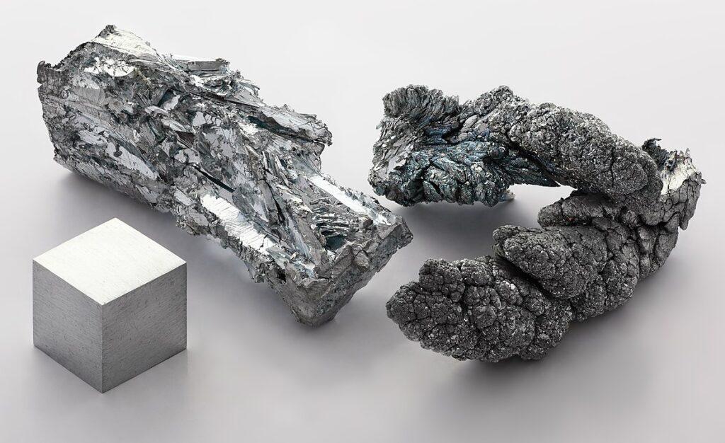Image of elemental zinc because zinc supplements are in demand during the coronavirus era.