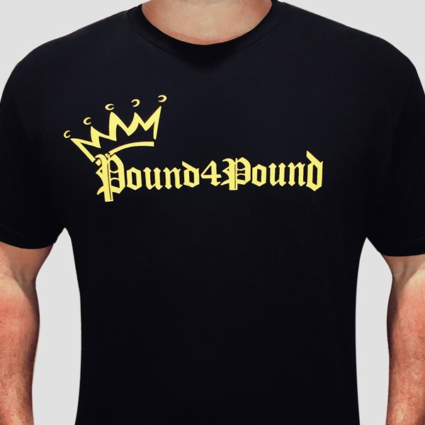 T-Shirt (black) Crown