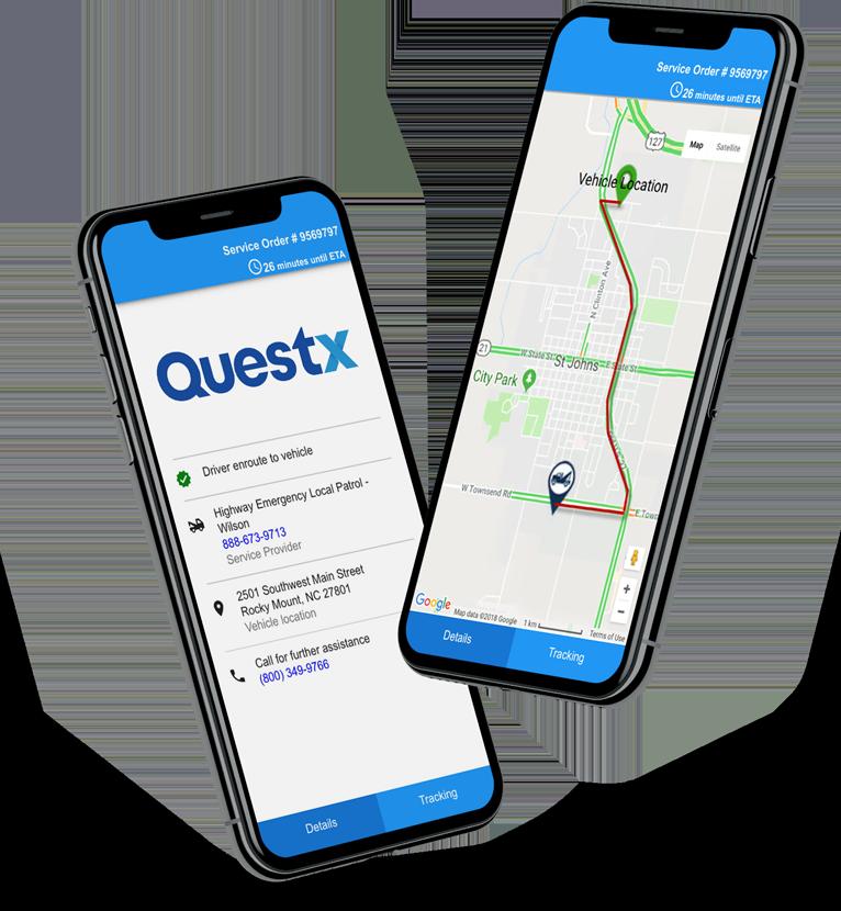 customer branded roadside assistance app
