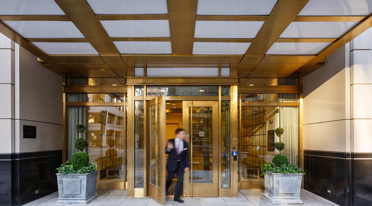 Madison Office Building Entrance