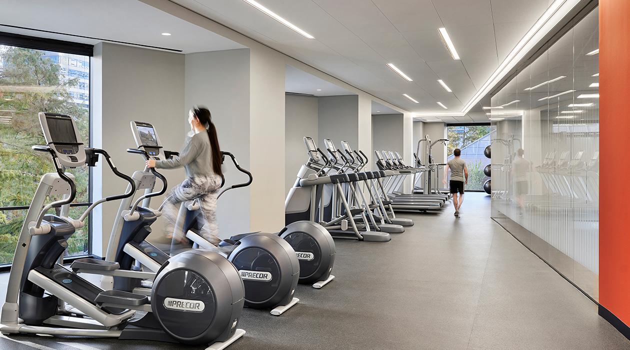 Trammell Crow Center Fitness Center