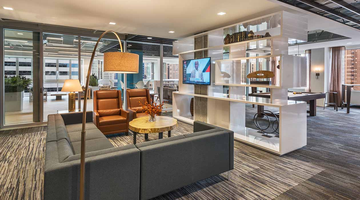 200 West Jackson Office Lounge