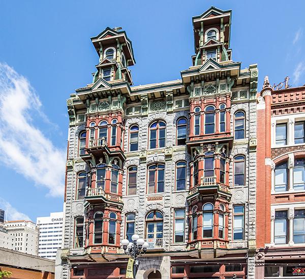 Louis Bank of Commerce Exterior Facade