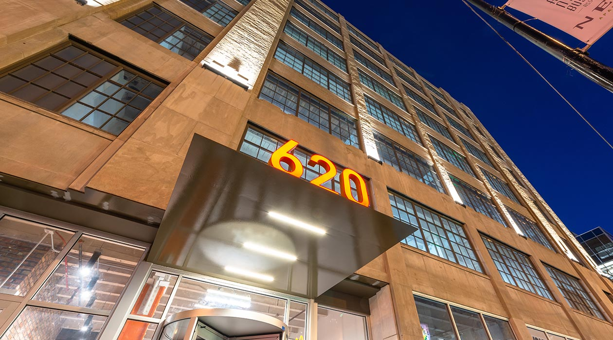 620 N LaSalle Office Main Entrance