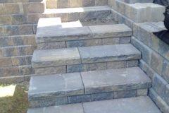 Interlocking Brick - Stairs North Bay Ontario 7