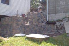 Interlocking Brick - Stairs North Bay Ontario 8