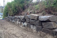 Natural Stone Retaining walls North Bay ontario