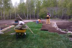 Sod Installation - FRESH GRASS - Kentucky Bluegrass North Bay Ontario 5