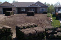 Sod Installation - FRESH GRASS - Kentucky Bluegrass North Bay Ontario