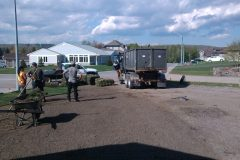 Sod Installation - FRESH GRASS - Kentucky Bluegrass North Bay Ontario 33