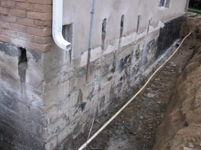 Foundation repair North Bay Ontario