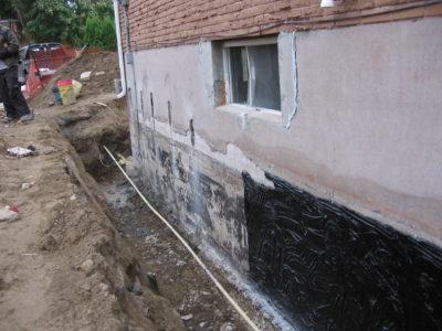 wet basements repair north bay