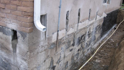 Wet Basement and Foundation Repair North Bay