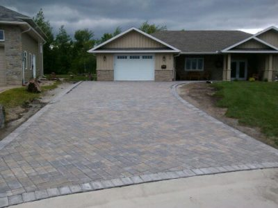 Landscaping - Interlock Brick North Bay
