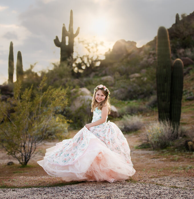 Fine Art Child Photographer - Paradise Valley