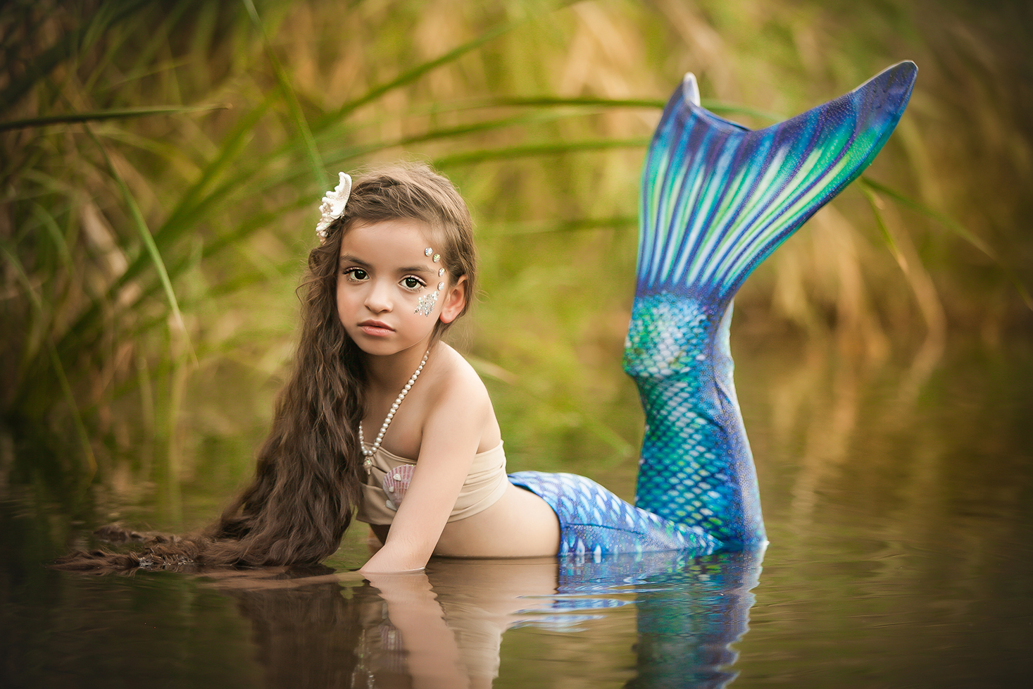 Fine Art Child Photographer - Mermaid Shoot - Scottsdale