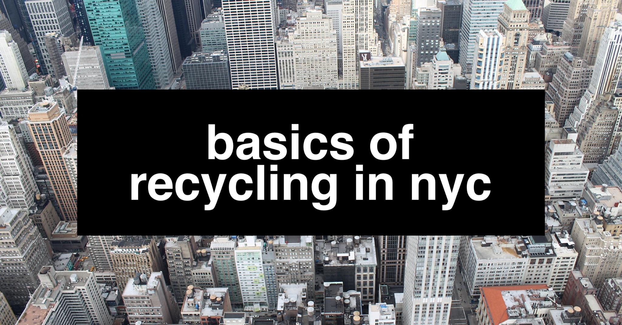 basics-of-recycling-in-nyc
