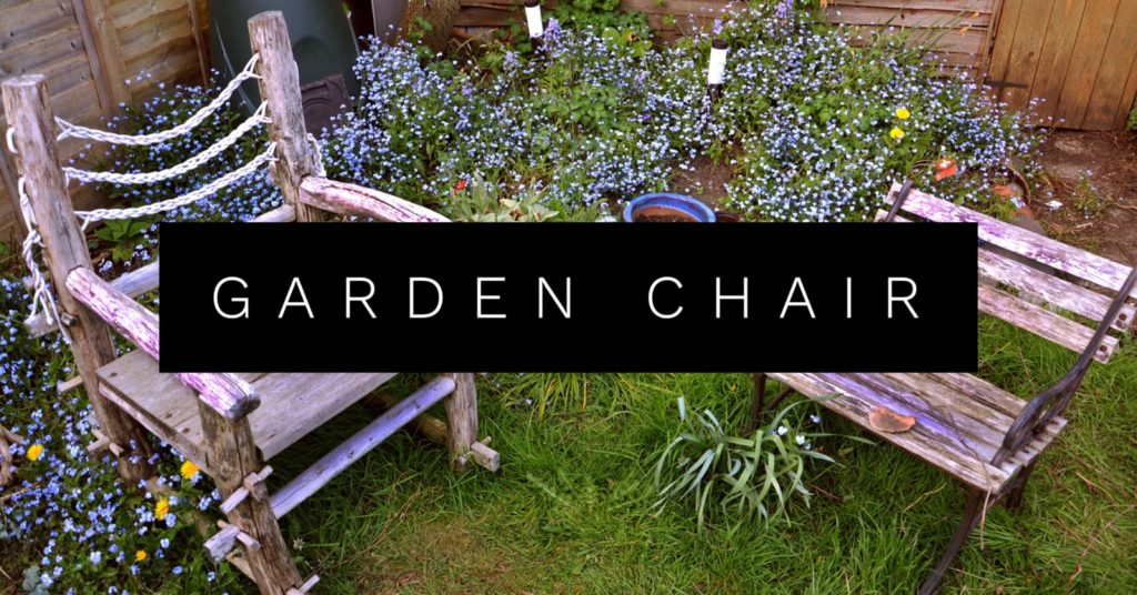 upcycle Belt Garden Chair