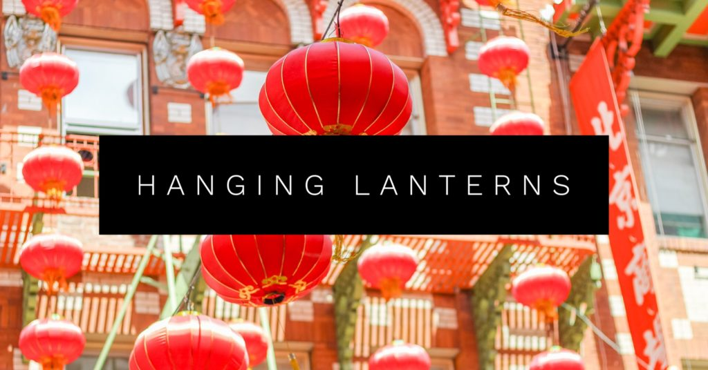 upcycle hanging lanterns