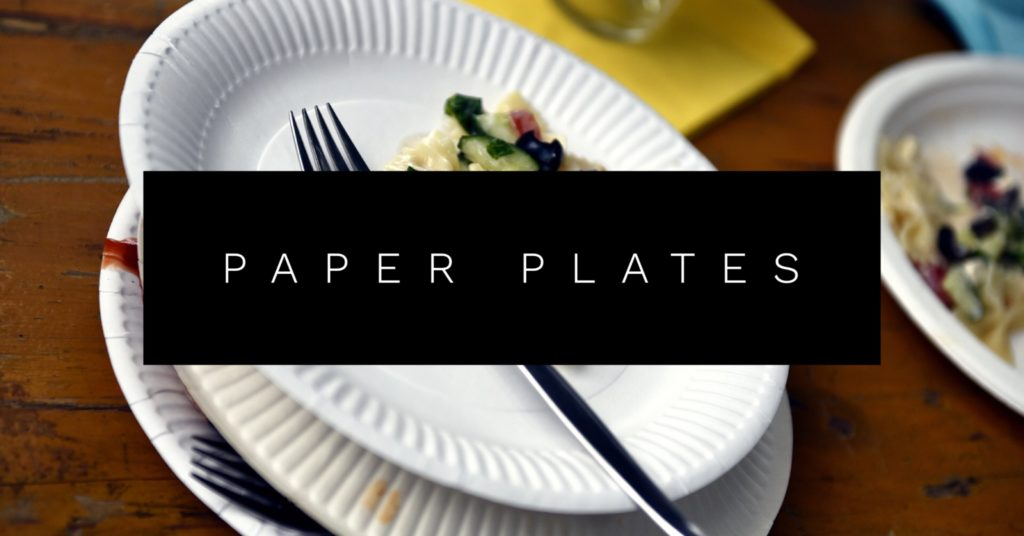Paper Plate Crafts upcycle