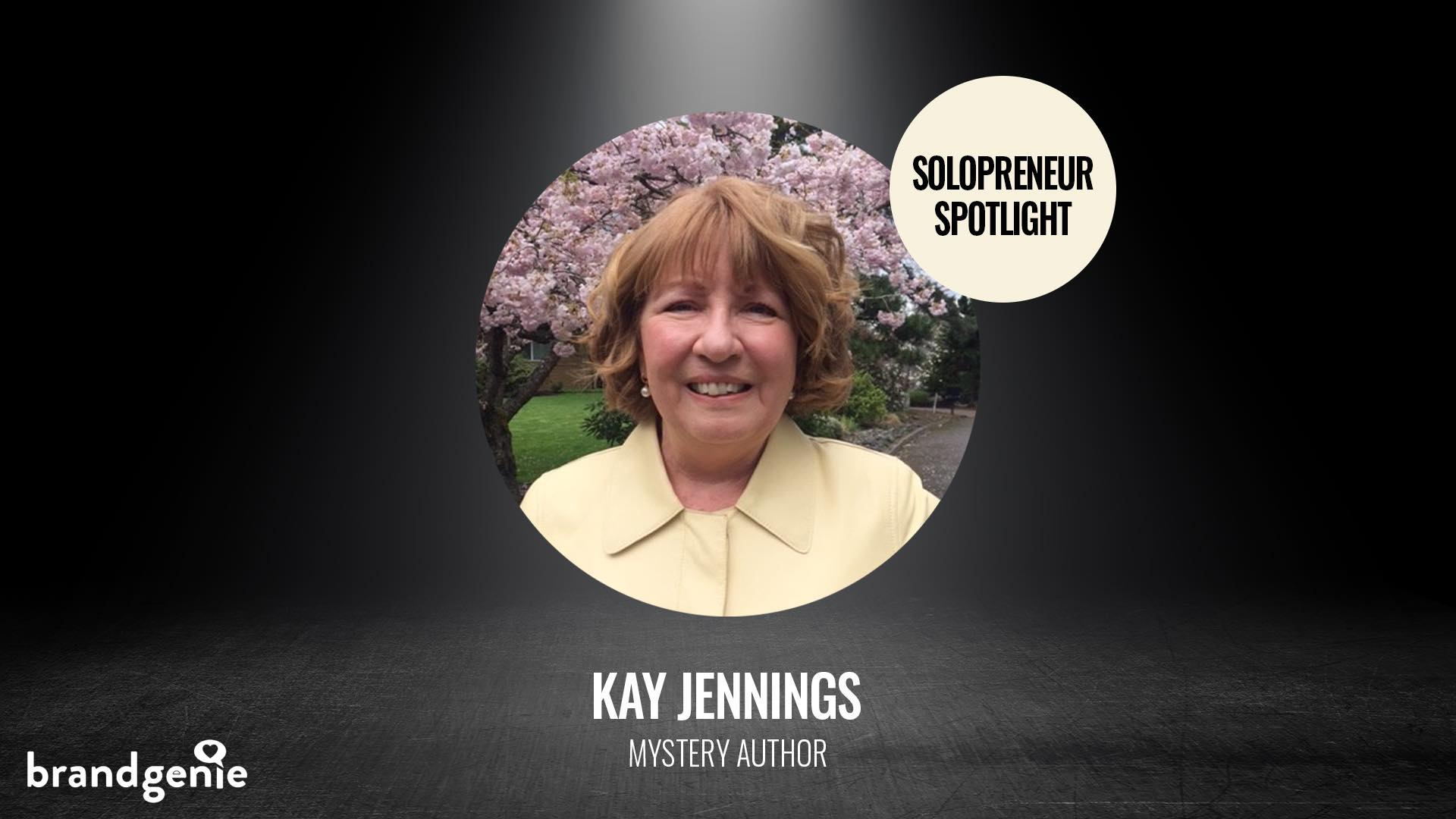 Author Kay Jennings shares her journey to publishing her first novel, tips for writers, and why having a compelling website is so important for an author.