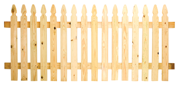 french gothic spaced picket