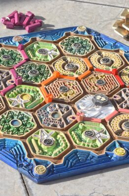 Settlers of Catan HandMade Artisinal Board