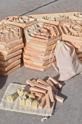 Raw Wood CNC Settlers of Catan Board