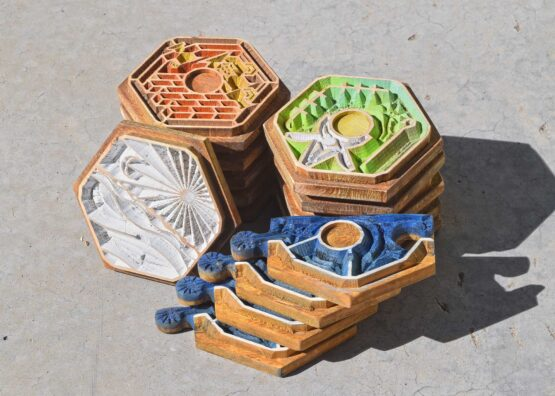 Wooden Handmade Crafted Settlers of Catan Board Game
