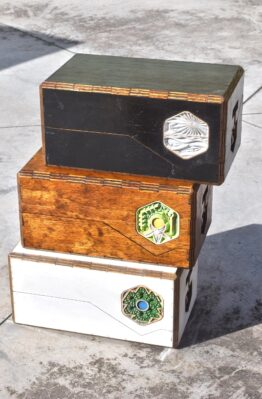 Settlers of Catan Custom CNC Hand Made Board Game Case