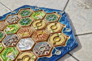 artisanal board games high end luxury collectible antique catan