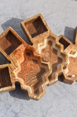 Settlers of Catan CNC Wooden Game Piece Caddy Holder