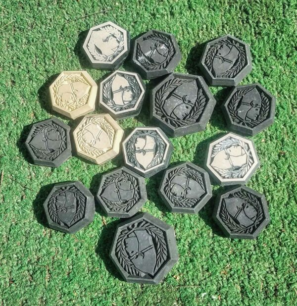 Settlers of Catan Robber Bandit Hand Made CNC Maker Game Pieces Board Games Gift Idea Birthday Fathers Day