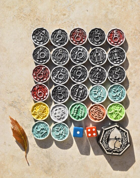 hand crafted settlers of catan wooden cnc board chits diy gift idea