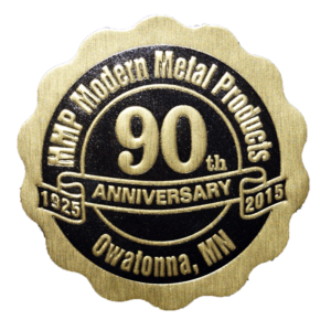 90th Anniversary Medal