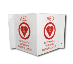 AED Plastic Sign