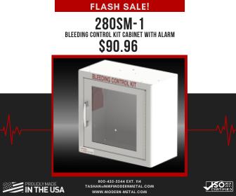 280SM-1 Bleeding Control Kit Cabinet with Alarm