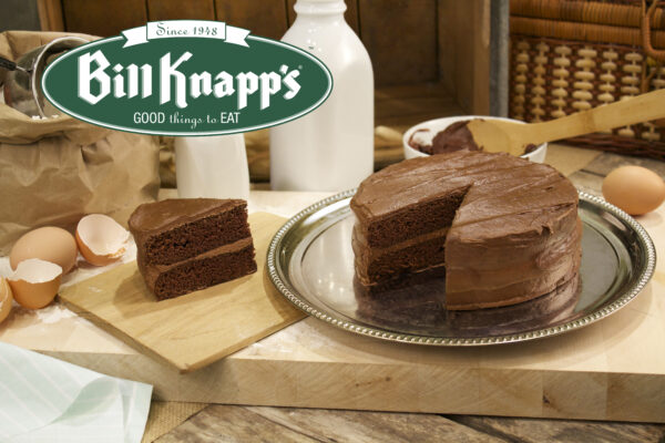 Bill Knapp's chocolate cake