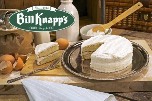 White Celebration Cake from Bill Knapp's