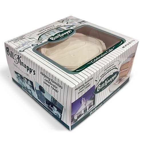 White Celebration Cake - Bill Knapp's