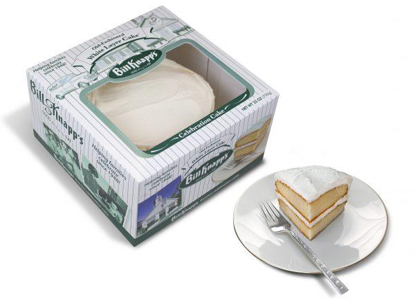 Box of Celebration Cake from Bill Knapp's