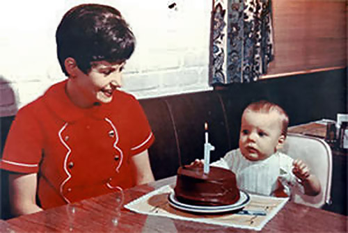 Bill Knapp's Birthday Cake