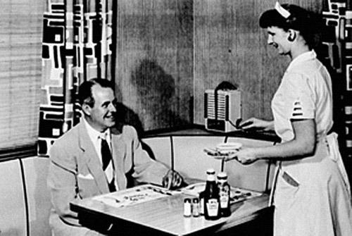 Bill Knapp's History - Waitress